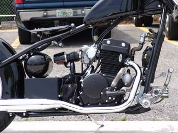 Chopper City USA Motorcycle by Dave Welch