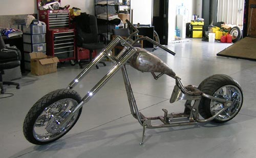Chopper City Custom's 330mm Phat Chopper for Bob Dawg
