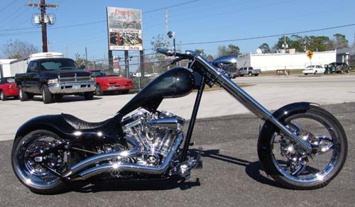 330mm Softail Chopper Right Side
