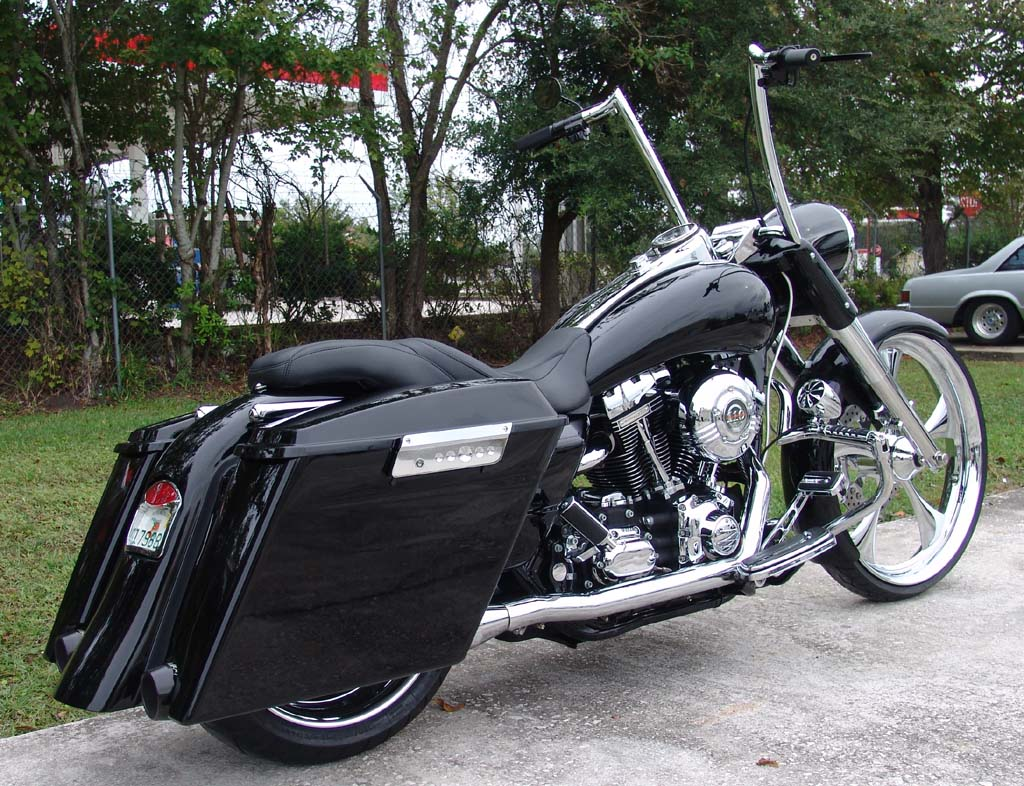 Chopper City Usa Customized Road King By Dave Welch