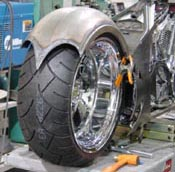 Single Sided Chopper Pointed Fender