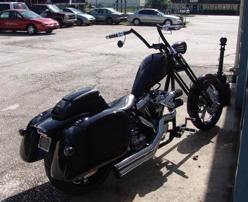 Galer's Softail Bagger