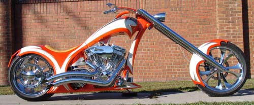 High End 300mm Single-Sided Softail Chopper