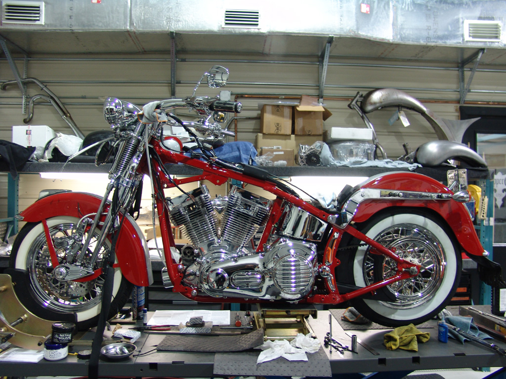 Chopper City Usa Ian S Flsts Motorcycle Customized By Dave