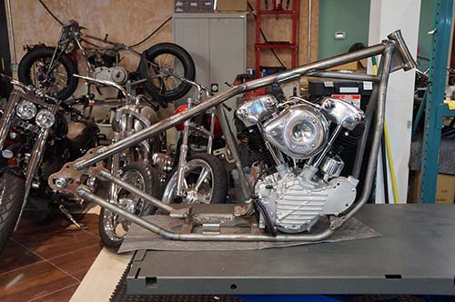 Chopper City USA Knuckle Bobber