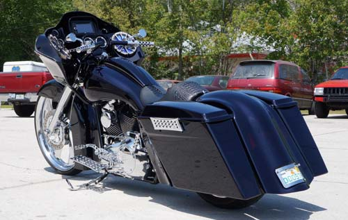 Lamar's 2010 Customized Road Glide by Dave Welch