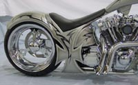 Customized 2003 Harley-Davidson FXST