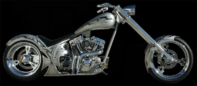 2003 Customized Harley FXST Softail Standard