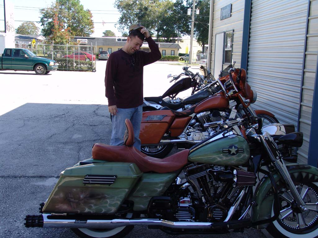 What Is Transmission >> Chopper City USA Scott's Customized Road King