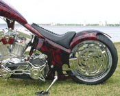 Softail From Hell Custom Chopper by Dave Welch