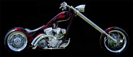 Softail from Hell by Dave Welch