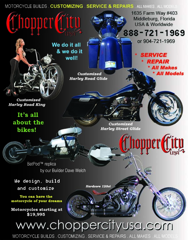 Chopper City USA Motorcycle Service & Customizing Shop