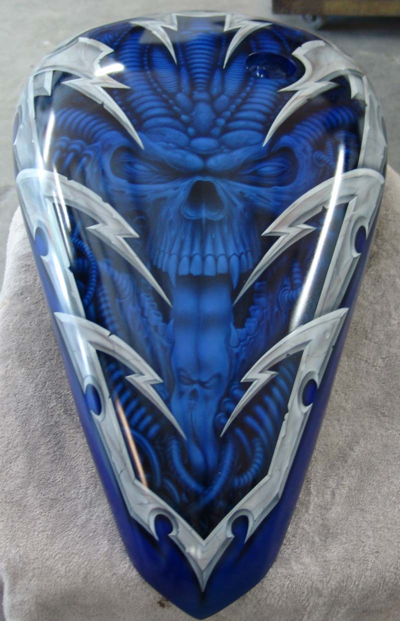 Motorcycle Tank Paint Stencils