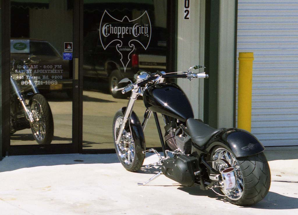 Harley Davidson Michigan >> Chopper City USA Customized 280mm Nightrain Motorcycle by ...