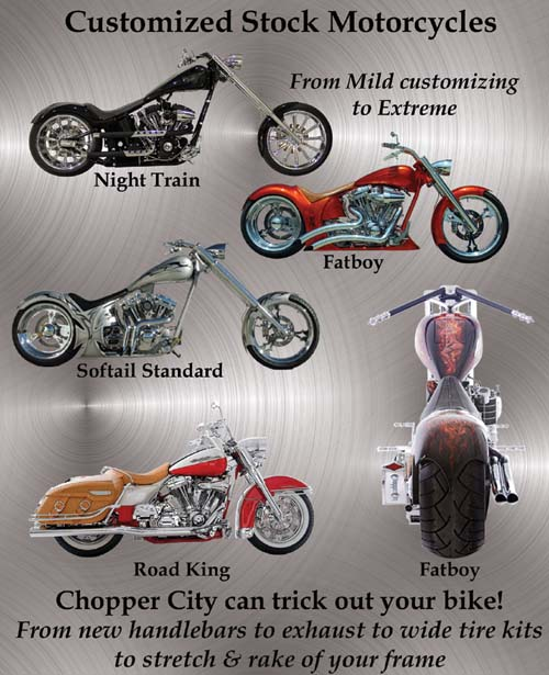 Chopper City USA Customized Motorcycle Series